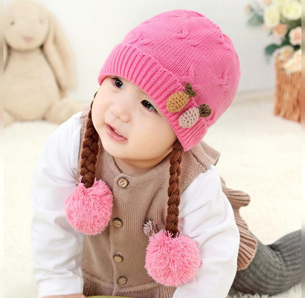 انواع مدل کلاه بافتنی بچه گانه جدید