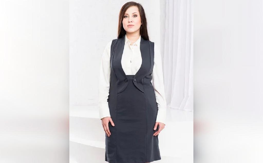 مدل سارافون زنانه برای افراد با هیکل درشت