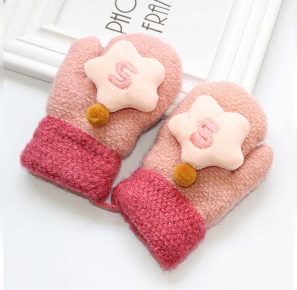 انواع دستکش بافتنی بچه گانه جدید و شیک