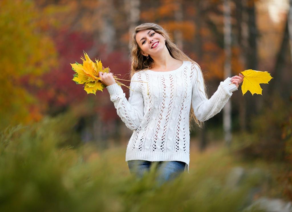 عکس ژست پاییزی زیبا برای پروفایل