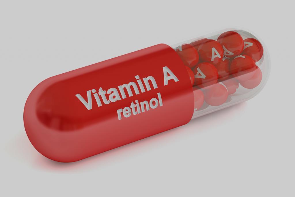 خطرات مصرف بیش از حد ویتامین آ