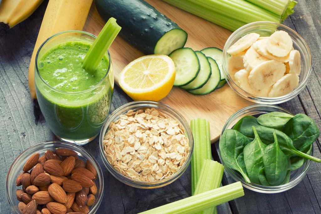 غذاهایی که به بهبود مشکلات گوارشی کمک می کند