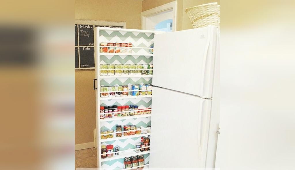 بهترین استفاده از فضا در آشپزخانه های کوچک