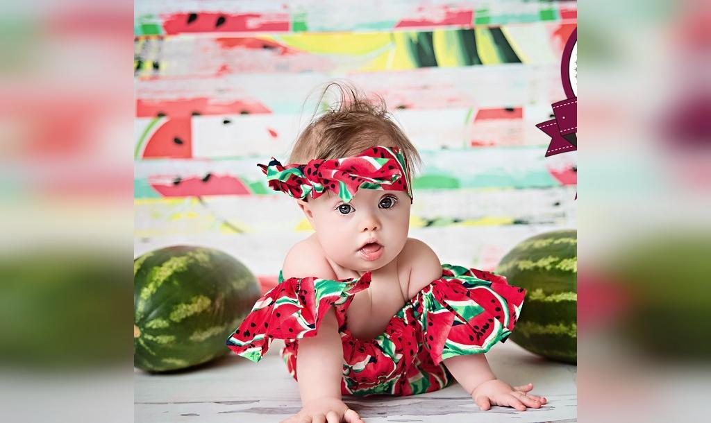 ایده لباس شب یلدا برای نوزاد دختر