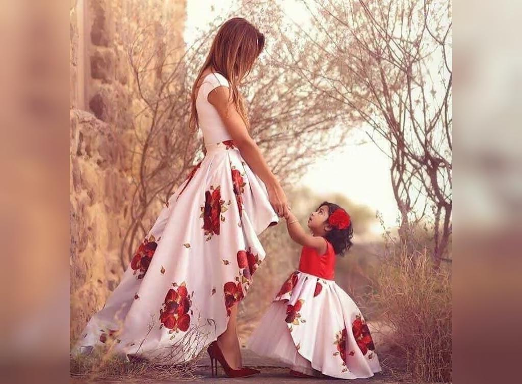 ست لباس ادر و دختر شیک و زیبا