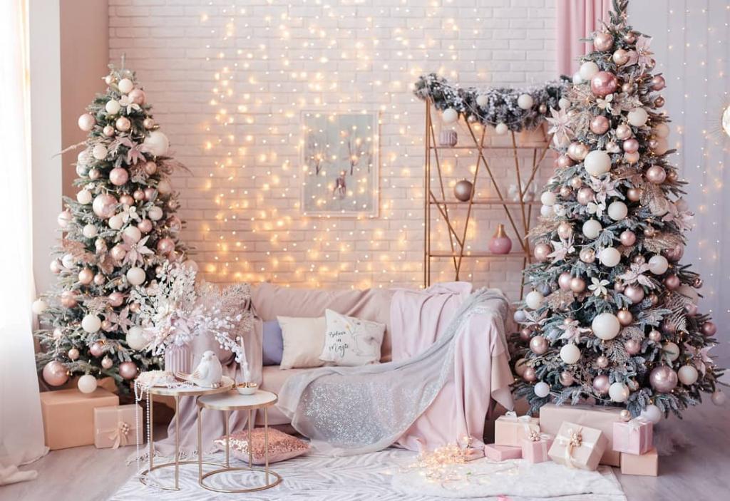 عکس مدل تزیین درخت کریسمس