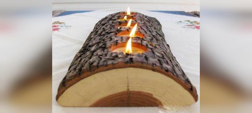 کارهای خلاقانه با چوب در خانه