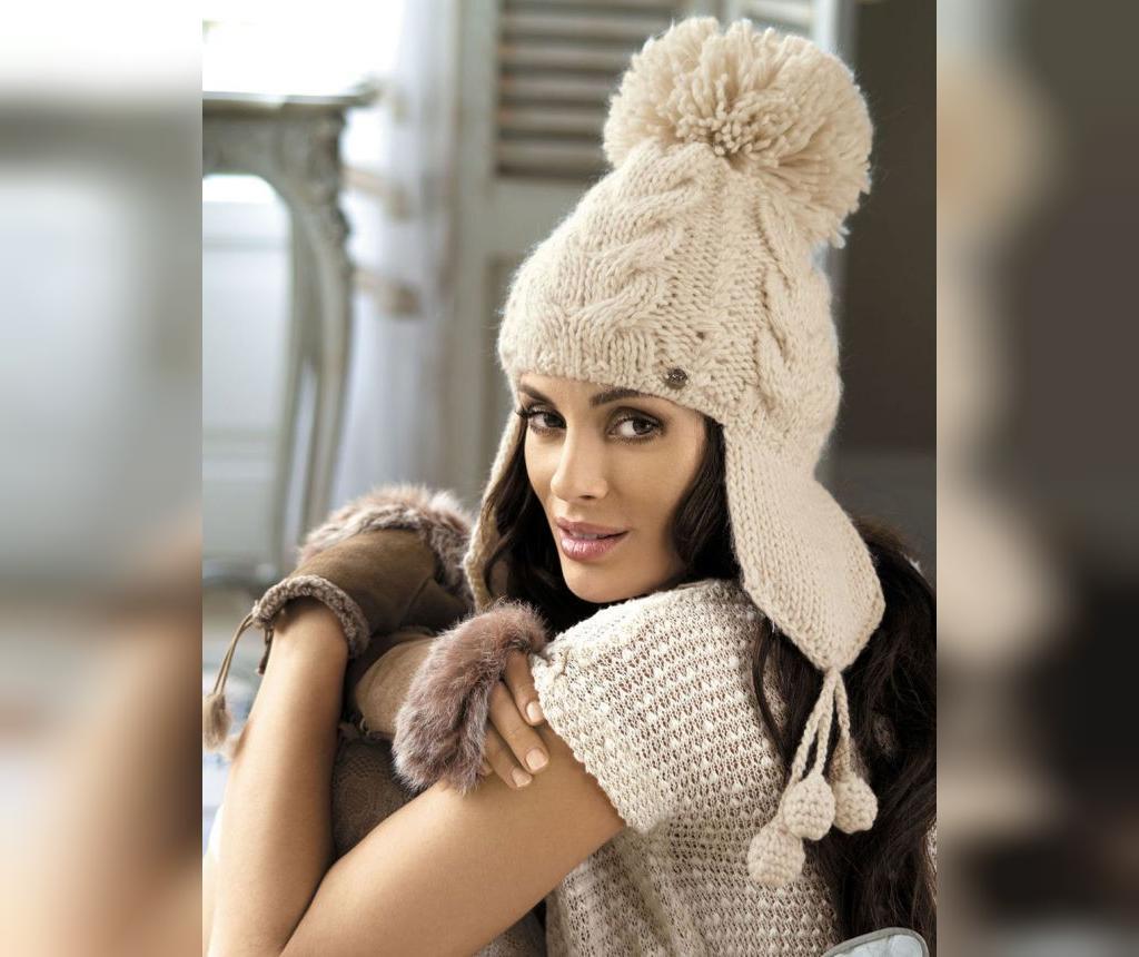 مدل کلاه بافتنی زنانه مجلسی