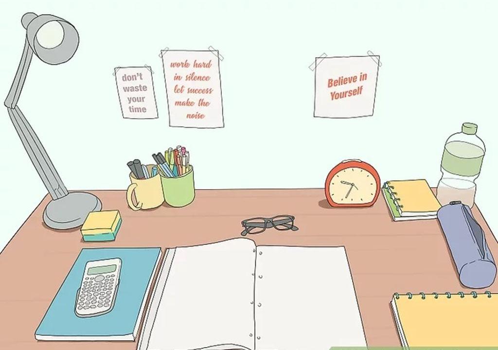 چطور محیط درس خواندن آماده کنیم