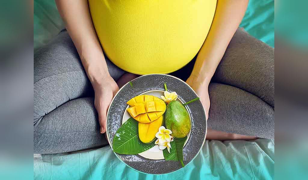 خوردن انبه در دوران حاملگی