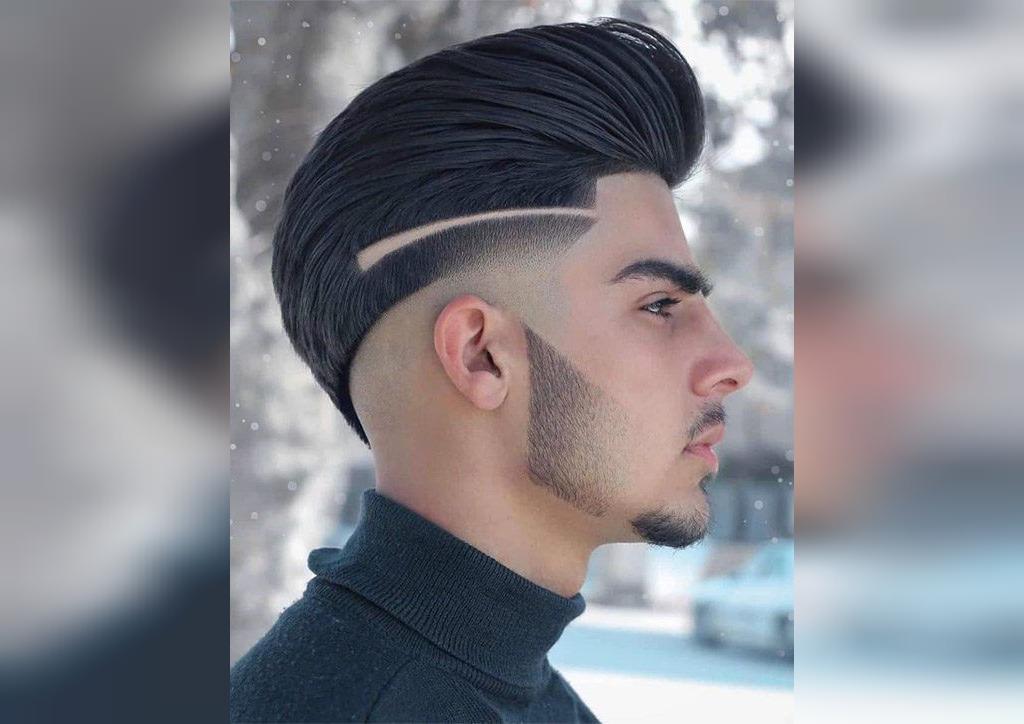 مدل مو پسرانه خامه ای بلند