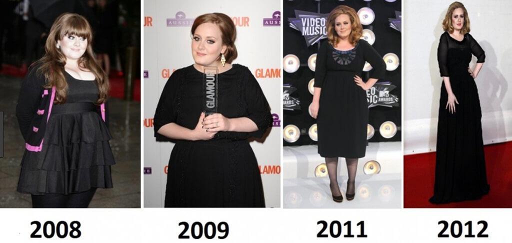 رژیم لاغری ادل (Adele)