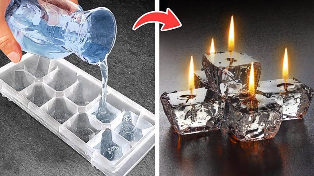 نحوه ساخت شمع در خانه