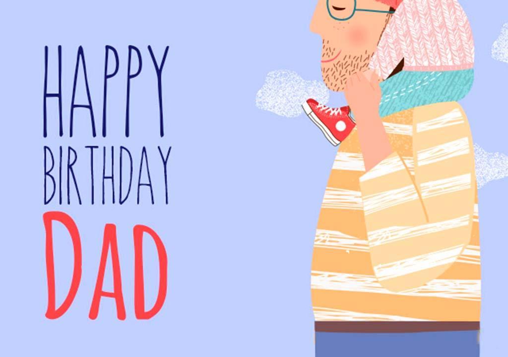 تبریک تولد پدر به انگلیسی
