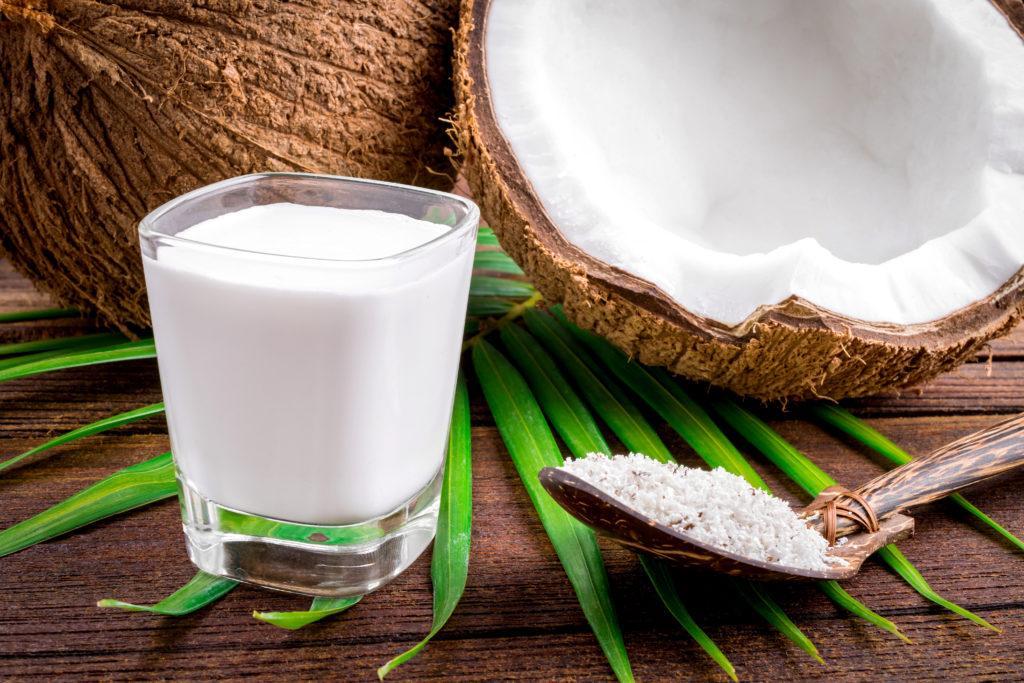شیر نارگیل از شیرهای جایگزین شیر مادر