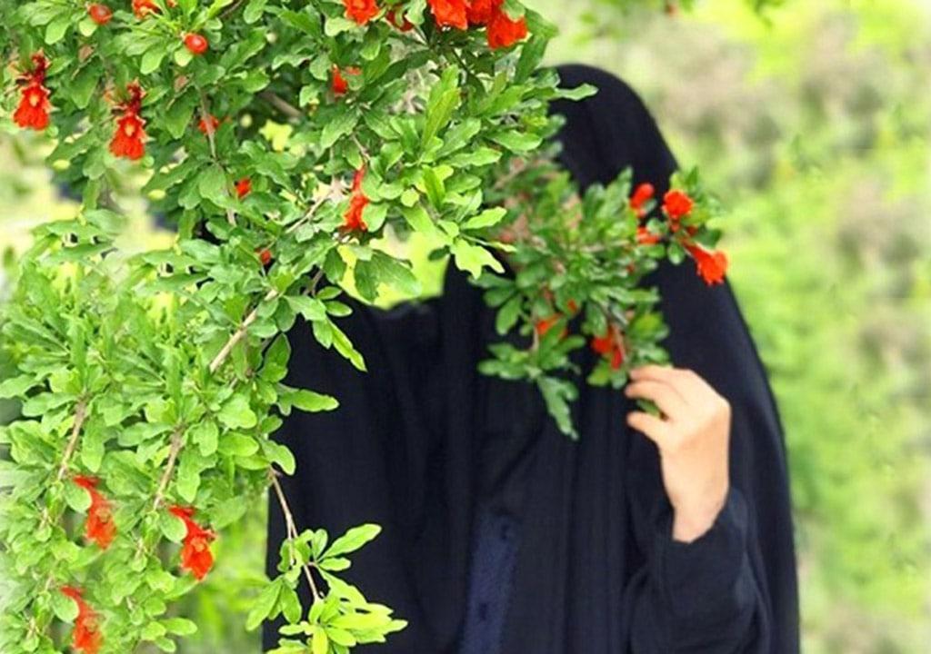 عکس پروفایل بهاری با چادر