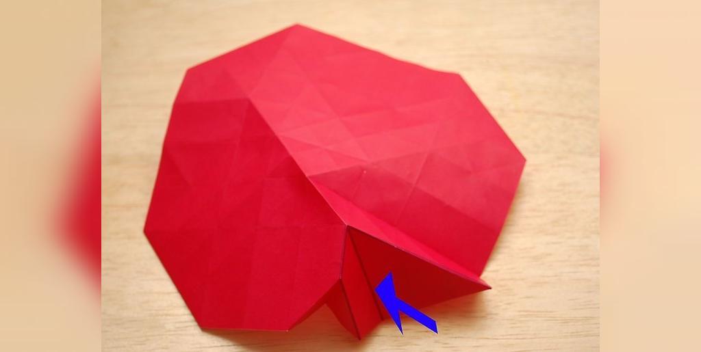 روش آسان ساخت گل رز کاغذی