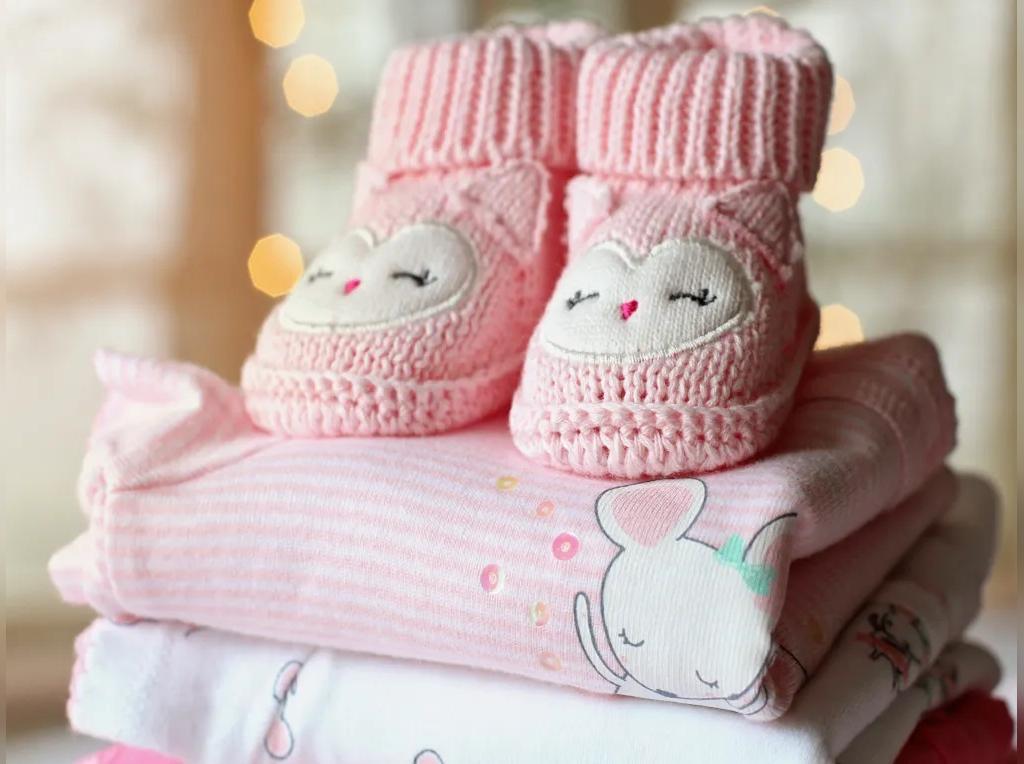 پوشاک نوزاد در سیسمونی