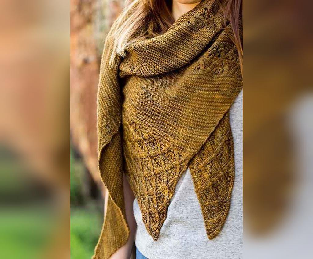مدل روسری سه گوش زنانه ساده