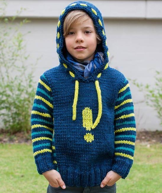 مدل ژاکت بافتنی پسرانه بچه گانه