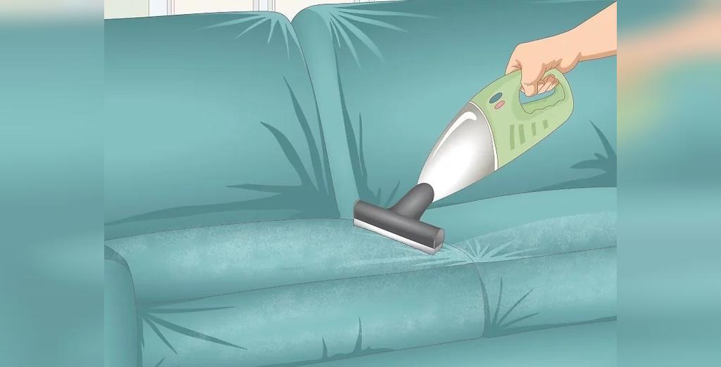 پاک کردن مبل مخمل در خانه