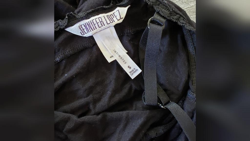Black Lace Detailed JLO Lingerie Nightie جنیفر لوپز