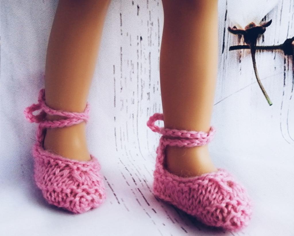 مدل جوراب بافتنی بچه گانه دخترانه