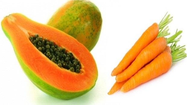 ماسک اووکادو و با هویج