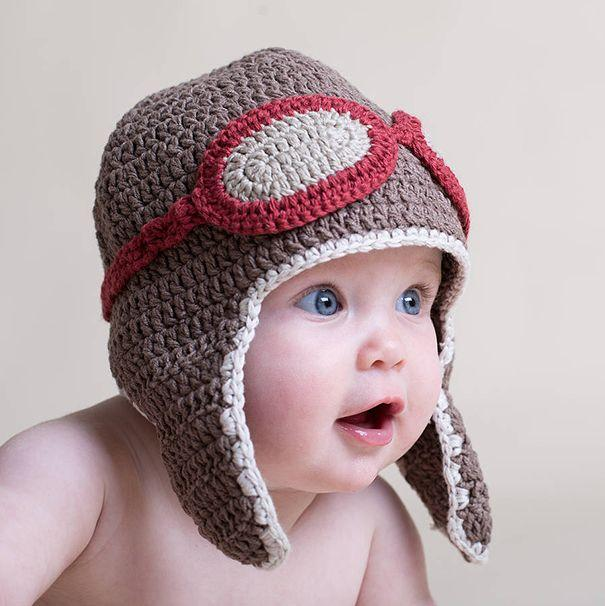 کلاه بافتنی نوزاد پسر