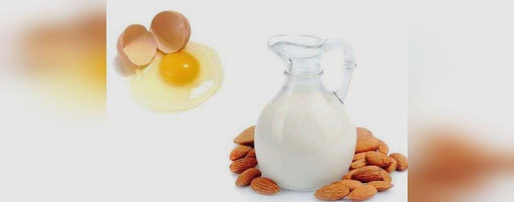 درمان جای جوش با شیره بادام و سفیده ی تخم مرغ