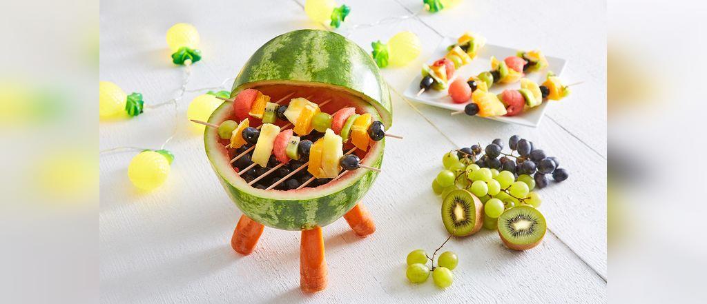 کاردستی شب یلدا با میوه