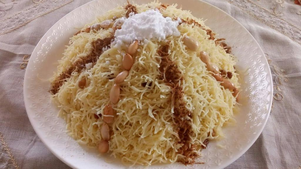 طرز تهیه بلالیت یا ورمیشل شیرین عربی