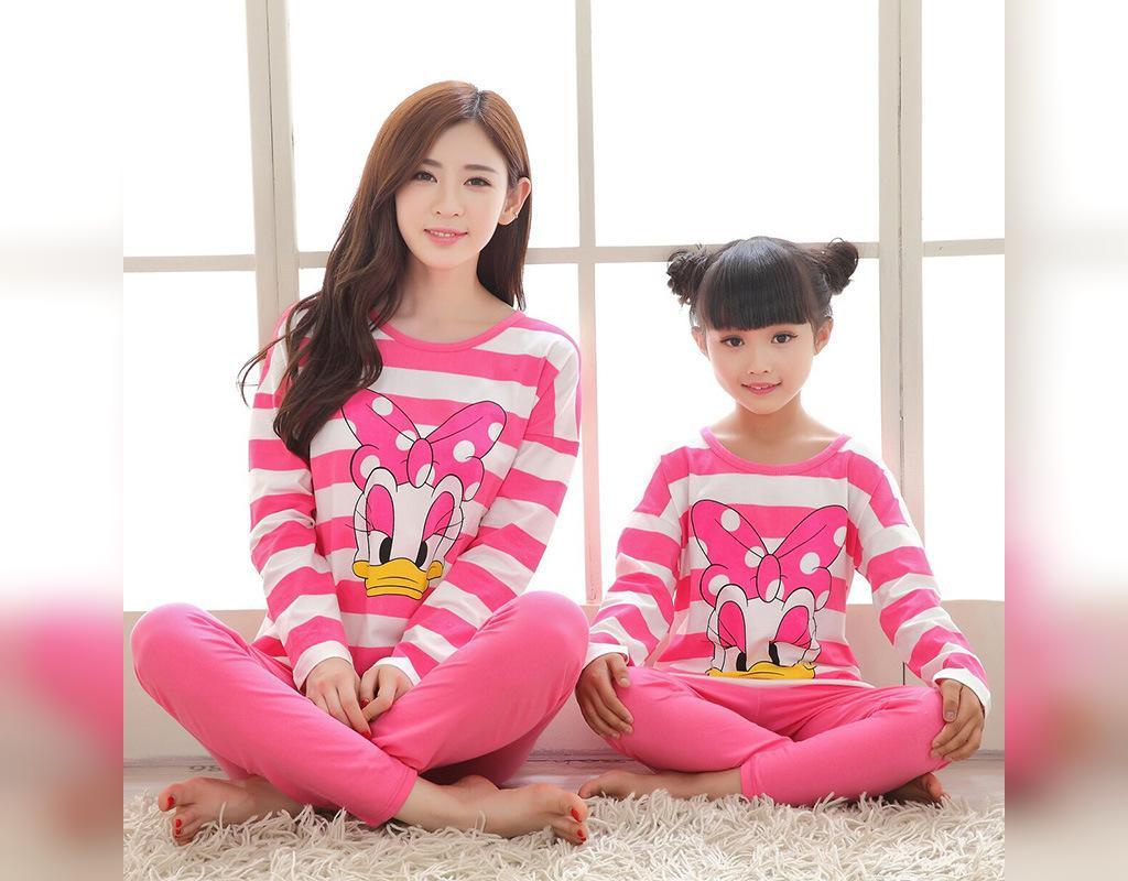ست لباس مادر و دختر: ست لباس خواب