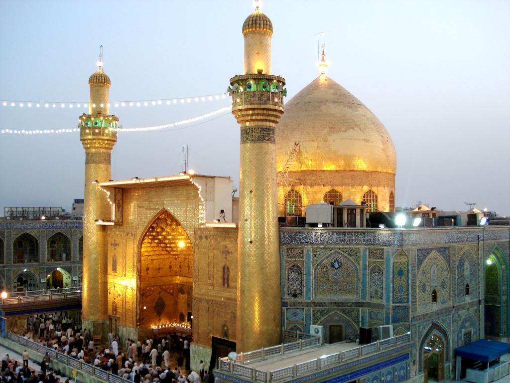 محل دفن حضرت علی (ع)