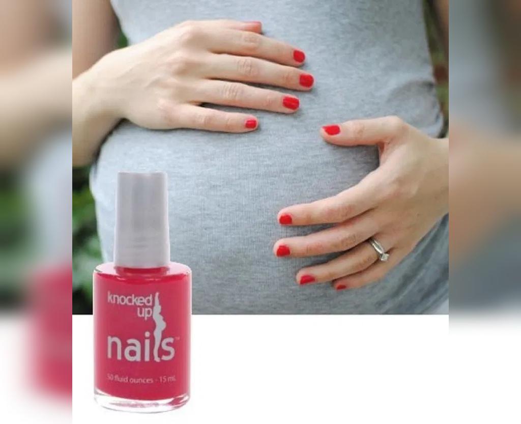 عوارض استفاده از لاک ناخن در زمان بارداری
