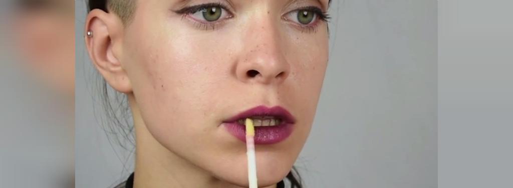 چگونه با آرایش لب های بزرگ تر داشته باشیم
