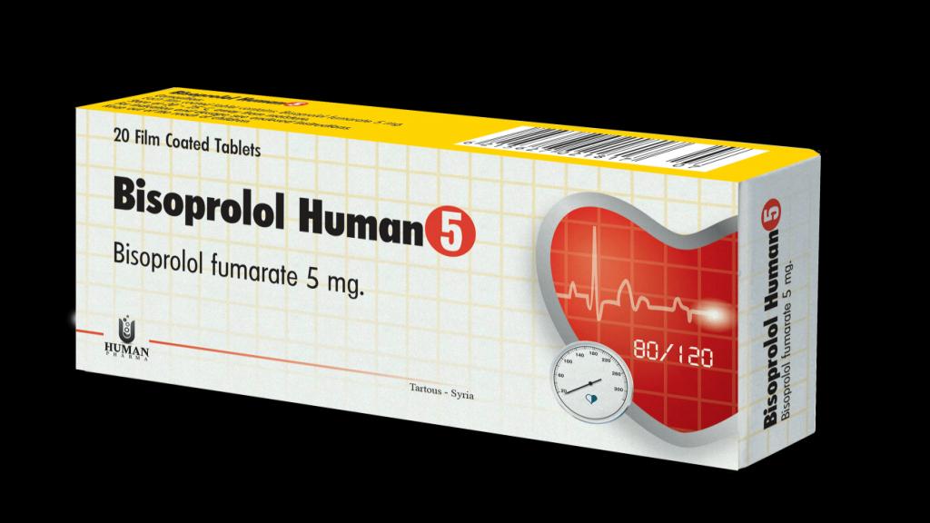 همه چیز درمورد قرص فشار خون بیزوپرولول (Bisoprolol)
