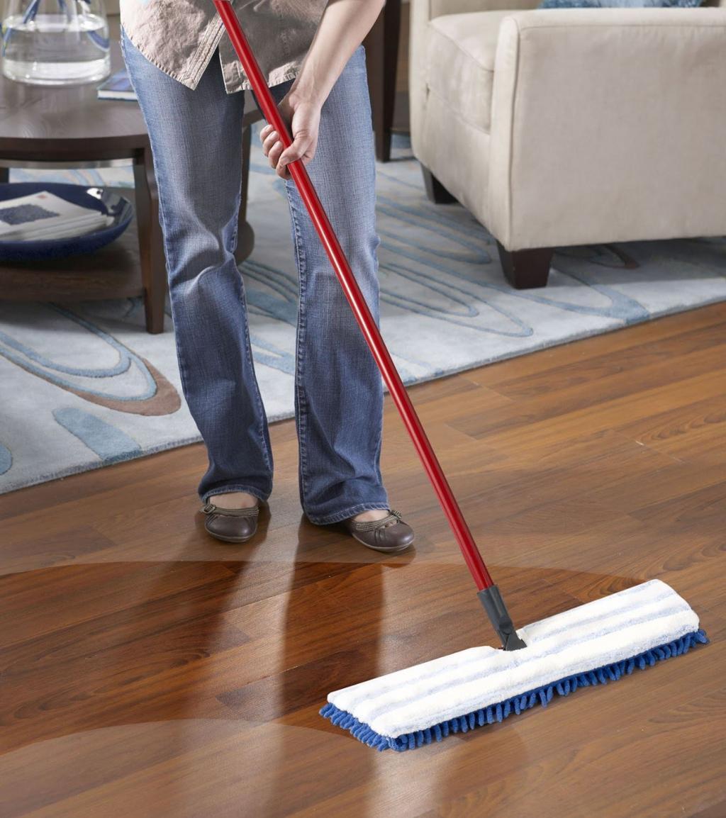 نکات خانه داری برای تمیز کردن کف پوش