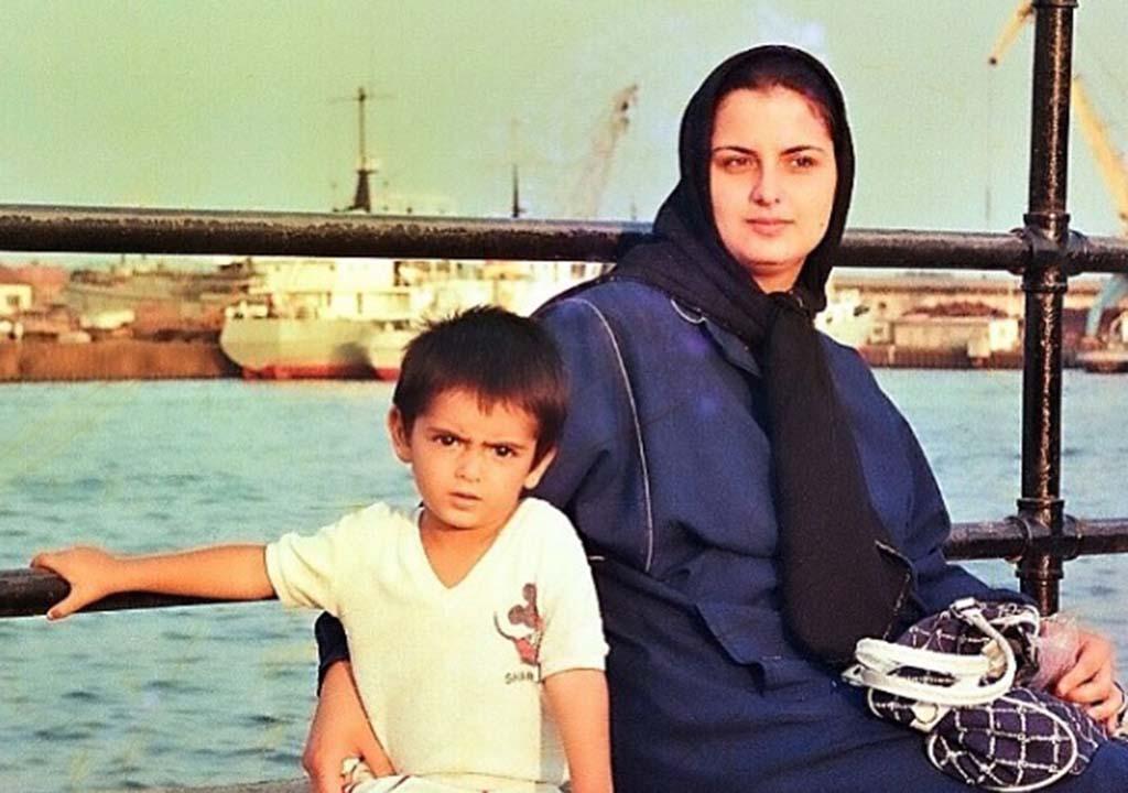مادر امیرحسین آرمان