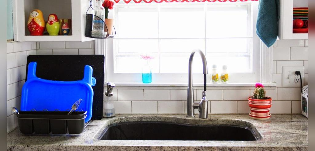راهکار ساده برای مرتب ماندن آشپزخانه کوچک