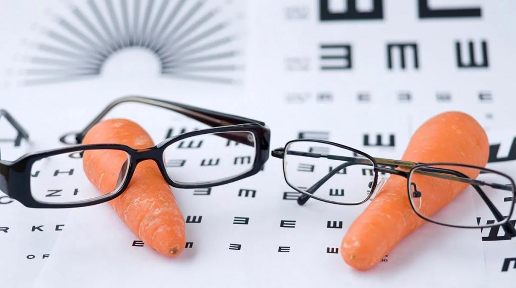فواید هویج برای چشم