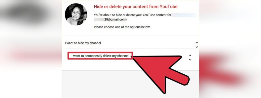 ذف کانال یوتیوب با گوشی