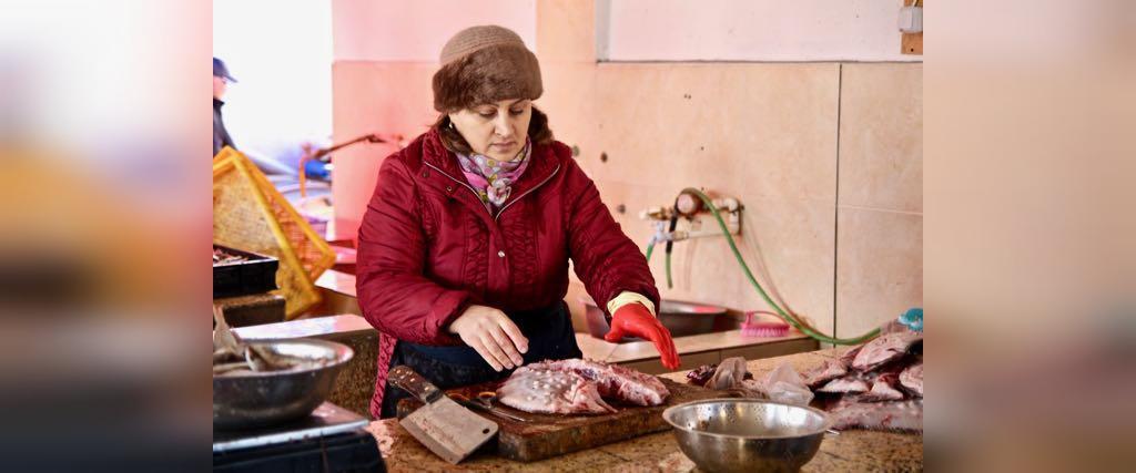 بازار ماهی باتومی
