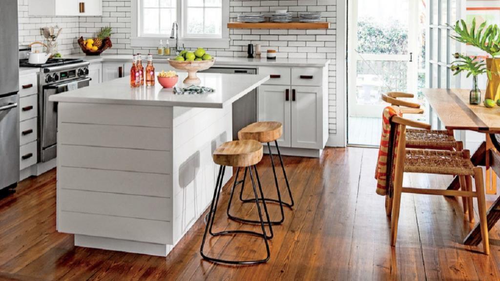 22 ترفند برای استفاده هوشمندانه از فضای آشپزخانه کوچک و بزرگ نشان دادن آن