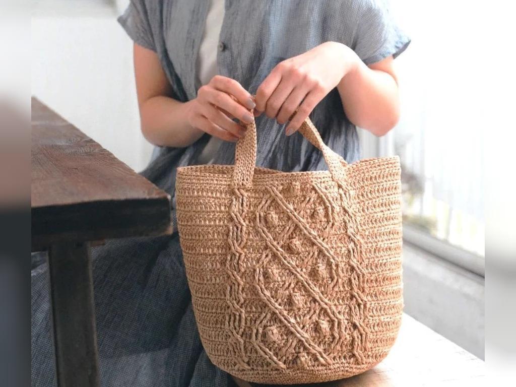 کیف بافتنی زنانه