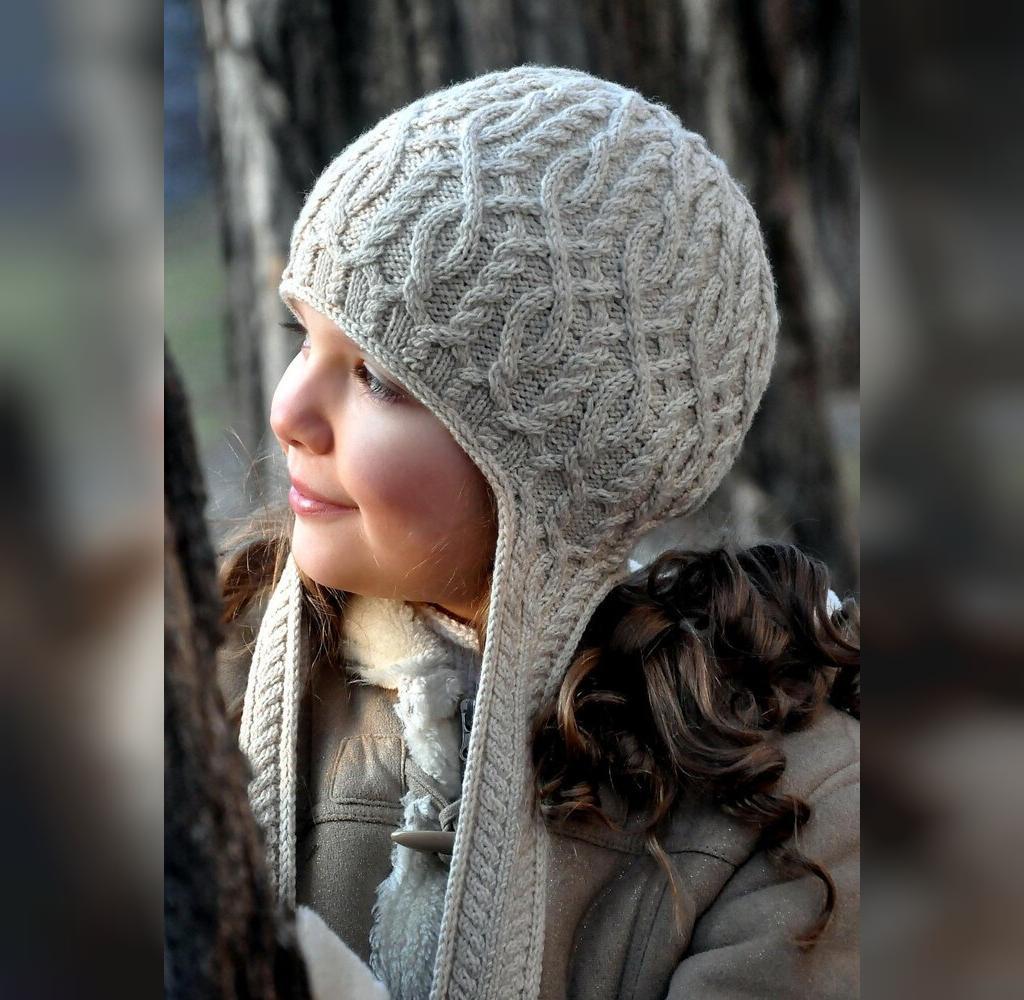 مدل ژورنال کلاه بافتنی ساده دخترانه