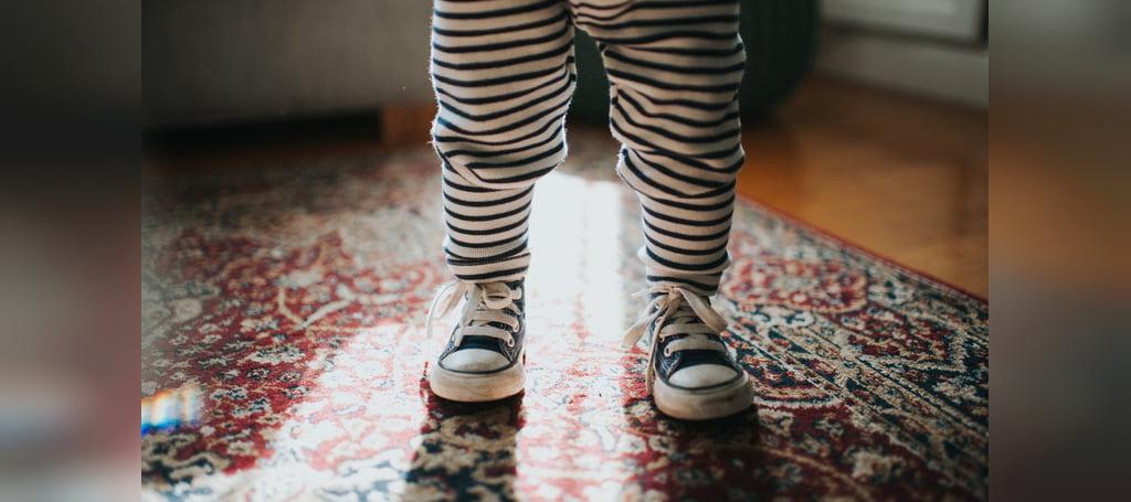 نکات مهم در زمان خرید اولین کفش کودک
