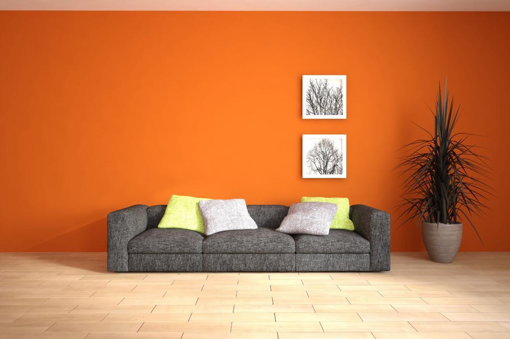 تأثیر رنگ نارنجی بر انسان