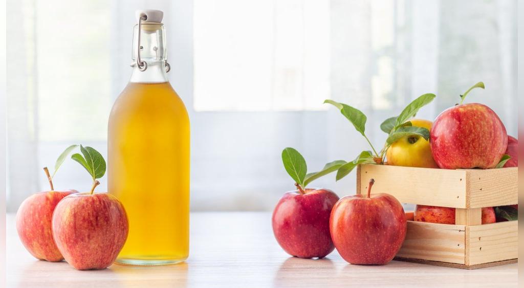 پاکسازی رحم با سرکه سیب