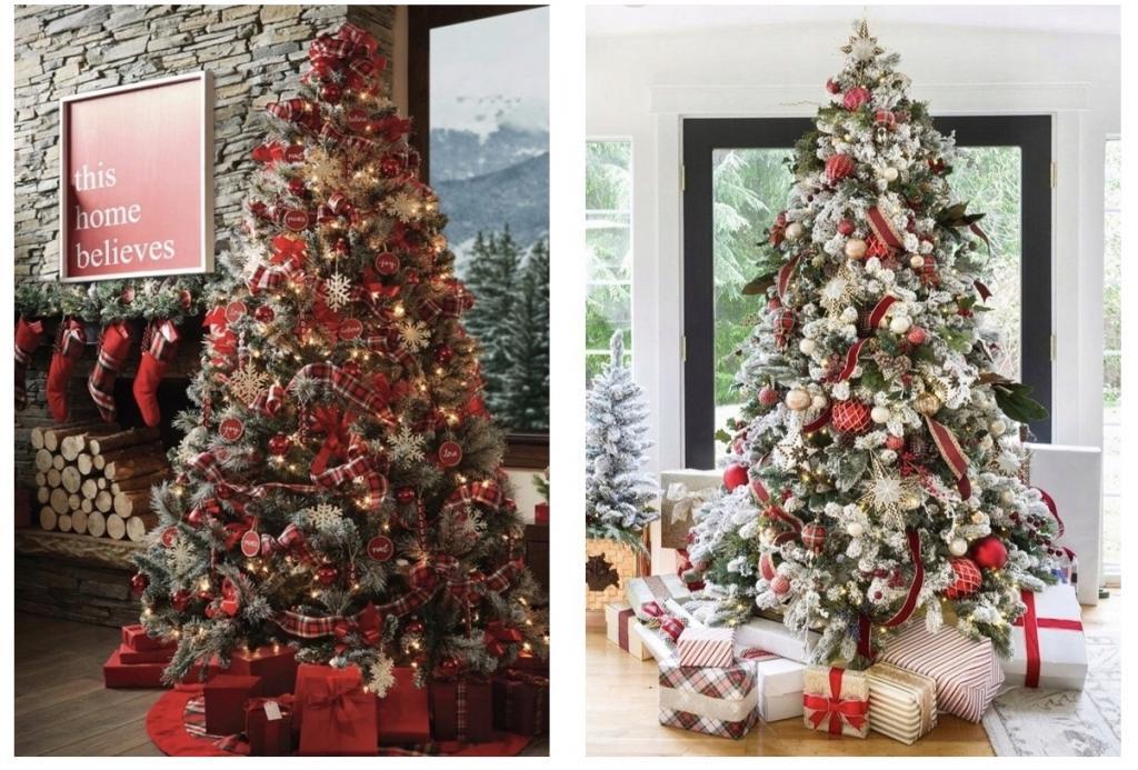 عکس ساخت درخت کریسمس با کاج